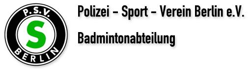 PSV Berlin e.V. – Badminton